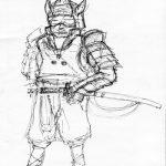 A Sketchy Samurai